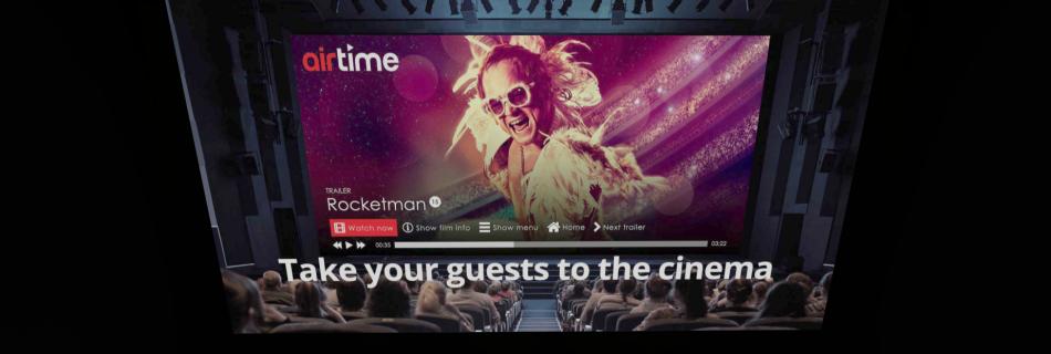 Hotelkamer cinema